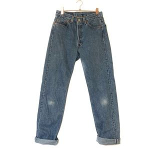 Levi's 501 Mom Jeans Vintage High Rise Made in USA